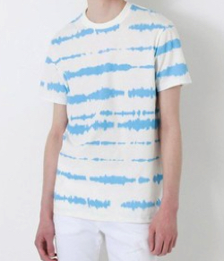 LOVELESS(ラブレス) アブストラクトライン Tシャツ