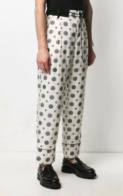 Sacai(サカイ) ドローストリング パジャマパンツ