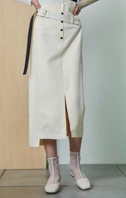 UNITED TOKYO クラートアシメタイトスカート