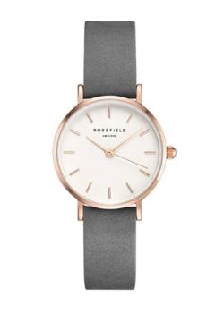 コントが始まる 芳根京子 グレーxピンクゴールドの腕時計