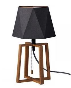 リコカツ インテリア ブラックのテーブルランプ