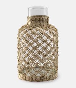リコカツ インテリア 網デザインの花瓶