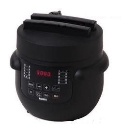 リコカツ インテリア 黒い電気圧力鍋