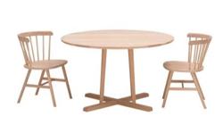 リコカツ インテリア 木製のダイニングテーブル&チェア
