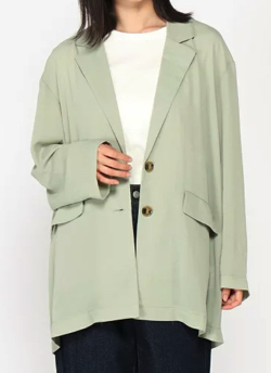 めざましテレビ 阿部華也子 ライトグリーンのジャケット