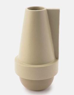 リコカツ インテリア ベージュの花瓶