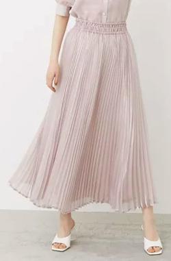 激レアさんを連れてきた 弘中綾香 ライトピンクのプリーツスカート