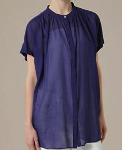 【めざましテレビ・8】永島優美衣装ブルーのブラウス