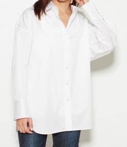 FNN Live News α・三田友梨佳ホワイトのシャツ