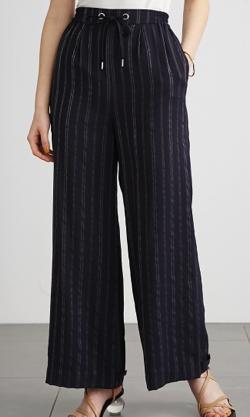Lily Brown stripe2wayパンツ