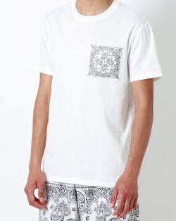 ドラゴン桜林遣都 白いバンダナポケットTシャツ