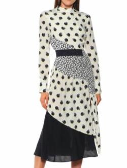 Stella McCartney(ステラ マッカートニー)printed silk midi dress