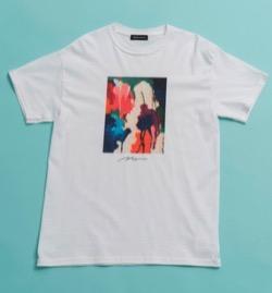 ボクの殺意が恋をした新木優子白いプリントTシャツ