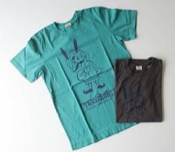 ハコヅメ・永野芽郁ブルーのTシャツ
