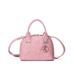 【いいね 光源氏くん 2】入山杏奈(藤原詩織)ドラマ衣装ピンクのショルダーバッグ