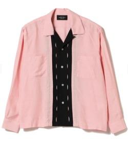 【北村匠海・番宣衣装】ピンクの長袖シャツ