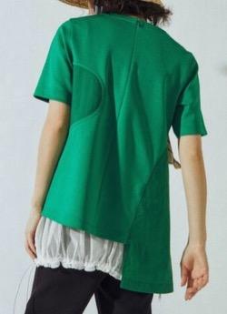 リコカツ・北川景子グリーンのTシャツ