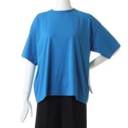 リコカツ北川景子ブルーのシンプルTシャツ