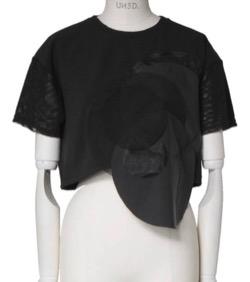 リコカツ北川景子黒いデザインTシャツ