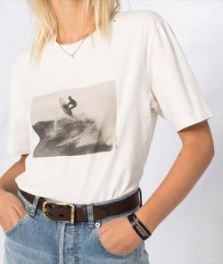 リコカツ北川景子白いプリントTシャツ
