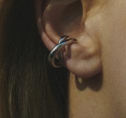 Charlotte Chesnais Initial Ear Cuff