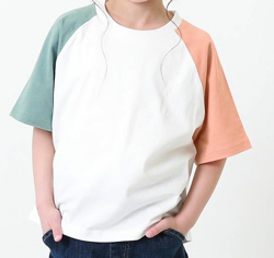 家族募集します・子役の宮崎莉里沙・佐藤遙灯・三浦綺羅ドラマ衣装ビッグTシャツ