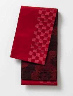 めざましテレビ・杉咲花赤いリバーシブル半巾帯