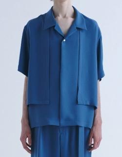 MUSIC BLOOD・田中圭・千葉雄大ブルーのシャツ