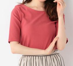 めざましテレビ・高見侑里衣装ピンクのカットソー