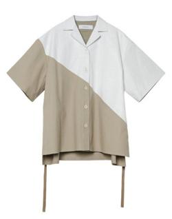 ボクの殺意が恋をした・新木優子衣装ホワイトxベージュのシャツ