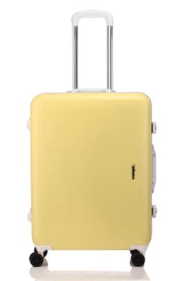 プロミスシンデレラ・二階堂ふみドラマ衣装ライトイエローのスーツケース