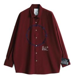 彼女はキレイだった(かのきれ)髙橋優斗ドラマ衣装ボルドーのシャツ