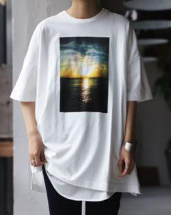 【IPサイバー捜査班】福原遥・島崎遥香・堀内敬子ドラマ衣装ホワイトのプリントTシャツ