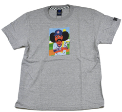 ハコヅメ・永野芽郁グレーのプリントTシャツ