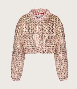 【彼女はキレイだった(かのきれ)】佐久間由衣(桐山梨沙)衣装ピンクベージュのジャケット
