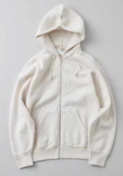 プロミスシンデレラ・二階堂ふみドラマ衣装ホワイトのジップパーカー