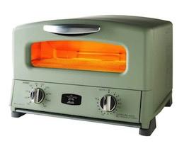 TOKYOMER・インテリアグリーンのオーブントースター
