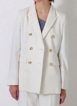 推しの王子様(おしプリ)・ドラマ衣装比嘉愛未ホワイトのジャケット