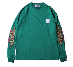 イタイケに恋して菊池 風磨 ・渡辺大知・アイクぬわらグリーンのロングTシャツ