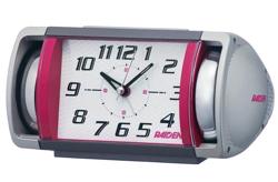 ハコヅメ・インテリアシルバーxピンクの目覚まし時計