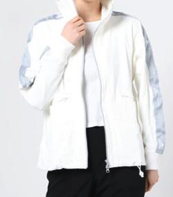 【彼女はキレイだった(かのきれ)】佐久間由衣(桐山梨沙)衣装ホワイトのランニングウェア