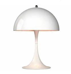 推しの王子様(おしプリ)・インテリアホワイトのキノコ型テーブルランプ