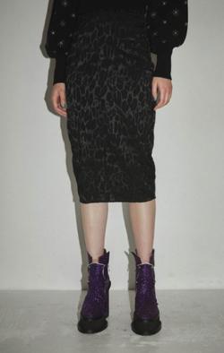 【ゼロイチ】指原莉乃(さっしー)さん衣装   ブラックのレオパード柄スカート