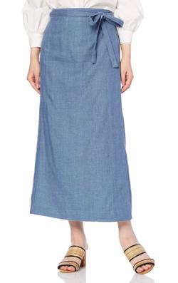 Night Doctor(ナイト・ドクター)岡崎紗絵 ドラマ衣装ブルーのスカート