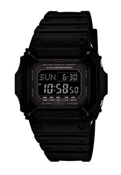 ナイトドクター田中圭 ドラマ衣装ブラックの腕時計
