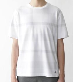 プロミスシンデレラ・眞栄田郷敦衣装ホワイトのチェック柄Tシャツ