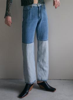 プロミスシンデレラ・二階堂ふみドラマ衣装ブルーのハーフデニムパンツ