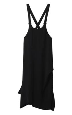 プロミスシンデレラ・二階堂ふみドラマ衣装ブラックのサロペット