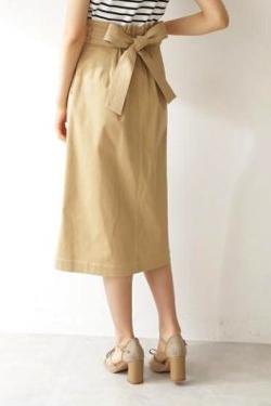 zip!・忽滑谷こころ衣装ベージュのハイウエストスカート
