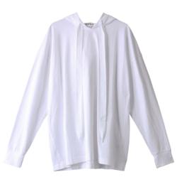 プロミスシンデレラ・二階堂ふみドラマ衣装ホワイトのパーカー